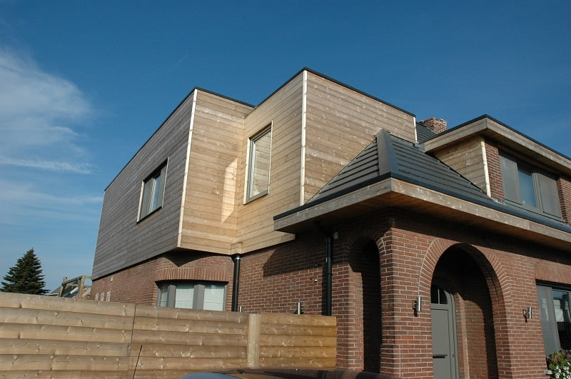 Opbouw in hout